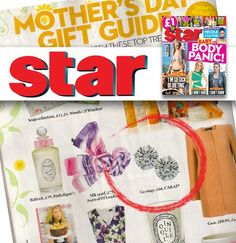 Even mums need a stud on mothers day. Check out our beautiful brilliant round Stud Earrings on the Mother's Day Gift Guide pages in last week's Star magazine. Did anyone buy these for their mum?