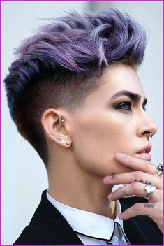 45 Inspiring Pixie Undercut Hairstyles - Short Pixie Cuts 45 Inspiring Pixie Undercut Hairstyles - Short Pixie Cuts Soft, shiny, silky and well-groomed hair is our. Short Pixie Haircuts, Short Hairstyles For Women, Hairstyles Haircuts, Trendy Hairstyles, Braided Hairstyles, Office Hairstyles, Anime Hairstyles, Medium Hairstyles, Ruby Rose Hairstyles