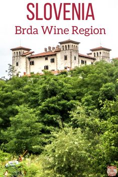Slovenia Travel Guide - Visit the off the beaten path region of Brda in Slovenia - Vineyards, rolling hills, charming villages. Cool Places To Visit, Great Places, Scarborough England, Slovenia Ljubljana, Slovenia Travel, Bohinj, Europe On A Budget, Hotels, European Travel