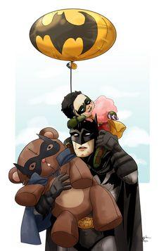 Damian looks high on sugar.