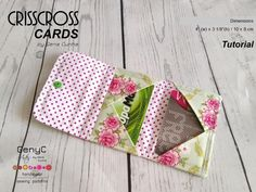 Crisscross Cards Pattern
