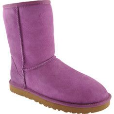 UGG Classic Short with FREE Shipping & Returns.   Shorter height fits great under or over pants.  100% premium wool fleece