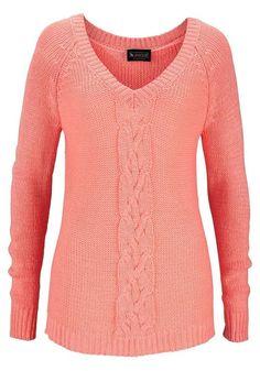 Laura Scott Damen Pullover Lachs Neu Gr.36-38