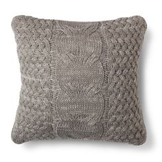 Threshold™ Cable Knit Throw Pillow