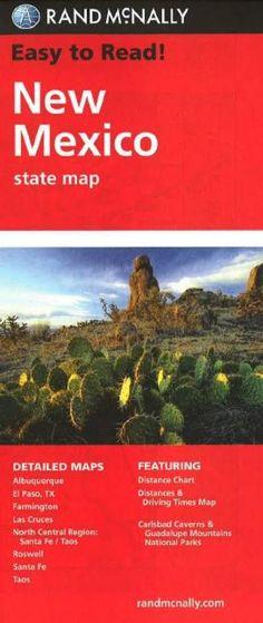 New Mexico by Rand McNally