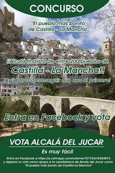 """Alcalá del Júcar """"El pueblo más Bonito de Castilla La Mancha"""""""