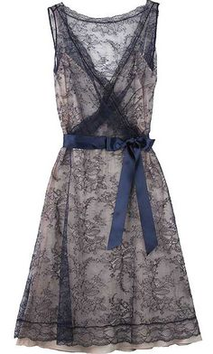 Moschino Cheap & Chic Lace Overlay dress - very pretty