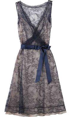 Moschino Cheap & Chic Lace Overlay dress - very pretty