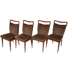 Set of 50's chairs by ISA-Gio Ponti style