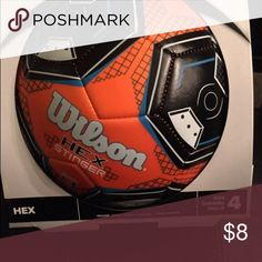 Soccer ball, new Wilson Hex Stinger Soccer ball, size 4. New, in original box. Wilson Other