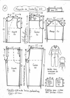 Dress Sewing Patterns, Sewing Patterns Free, Clothing Patterns, Sewing Tutorials, Sewing Projects, Jean Diy, Pattern Draping, Crop Top Pattern, Cosplay Diy