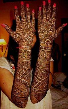Indian Bridal Mehndi Designs For Hands:  Henna rh:pinterest.com,Design