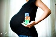 Baby announcement or pregnancy pics