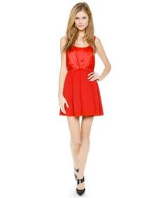 25 Red Dresses Guaranteed To Get You A Second Date : Lucky Magazine