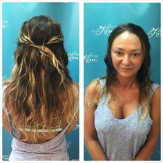 Jessica achieved this dimensional look for her guest by deeping the base color,  adding Caramel Balayage, & subtle Ombré on the ends! #cbkstyle colorsbykim.com