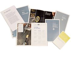 SY Partners: Booklets for client Alcoa