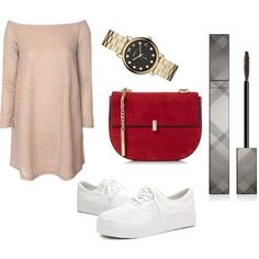 Untitled #2 by adindamutiarini on Polyvore featuring polyvore, fashion, style, Glamorous, Marc by Marc Jacobs and Burberry
