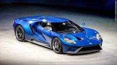 Awesome Ford 2017: Ford unveils new GT supercar  Toned Bodies