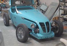 "Information about the kitcar ""De Flyer"" Ford Roadster, Kit Cars, Go Kart, Antique Cars, Restoration, Garage, Construction, News, Vehicles"