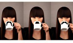 Use a ceramic paint pen to diy a plain mug, nice gift