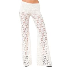 NIGHTCAP CLOTHING Pants Bell Bottoms Festival Lace Available Sizes: XS.  New with tags.  $198 Retail + Tax.   Lace bohemian bell bottoms that create an airy bed of flowers across your lower half.  Stretchy flared legs are lined with mini shorts.   Nylon, spandex, Lycra, viscose.  Made in the USA.   • Measurements provided in comment(s) section below.   {Southern Girl Fashion - Closet Policy}   ✔️ Same-Business-Day Shipping (10am CT). ✔️ Reasonable best offer considered when submitted with…