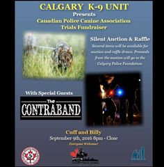 My band's gig for a Calgary Police K-9 unit fundraiser!