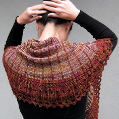 Renee shawl knitting pattern