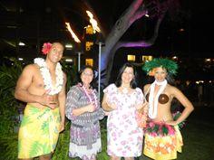 Chegada ao Hawaii...