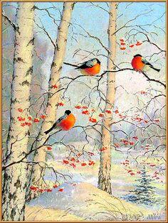 картинки gif анимация природа зима - Поиск в Google