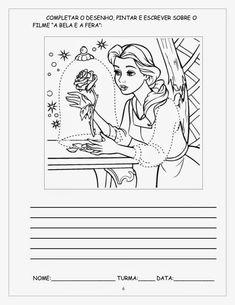 ESPAÇO EDUCAR: Sequência didática A Bela e a fera atividades para imprimir!