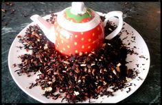 Kiwi strawberry infusion plus strawberry teapot.