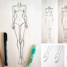 Today I show you how to draw muscles on fashion figures body. In this fashion design course you will drawing muscles on female figures body. Fashion Designing Course, Fashion Design Classes, Fashion Design Drawings, Fashion Sketches, Fashion Illustrations, Fashion Drawing Tutorial, Fashion Illustration Tutorial, Fashion Figure Drawing, Drawing Fashion
