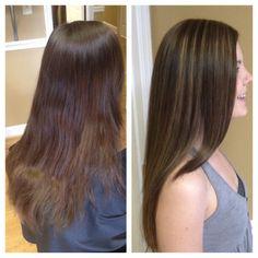 Highlight and haircut