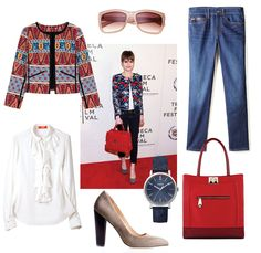 How to style a bold, printed jacket