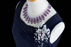 手作りビーズコサージュ【カザリ咲色】#カザリ咲色 #ビーズ #ビーズフラワー #ビジュー #ハンドメイド #コサージュ #手作り #手芸 #アクセサリー #コスチュームジュエリー #bead #beads #bijou #beading #beadedflower #beadswork #beadwork #beadsph #bijoux #beaded #biser #necklace #handmade