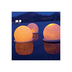 Color-Changing Floating Pool Lights