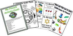 This packet is brimming with fun and educational Passover worksheets for kids!
