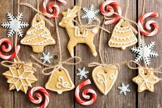 Christmas homemade gingerbread cookies photo by haveseen on Envato Elements Christmas Is Coming, Christmas Time, Christmas Ornaments, Christmas Things, Christmas Sweets, Christmas Baking, Homemade Christmas, German Christmas Biscuits, Sugar Cake