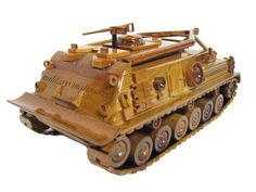 M88 M88A1 MRV Recovery Vehicle Armor Tank Mahogany Wood Handcrafted Wooden Replica Model Christmas Gift by MilitaryMahogany on Etsy