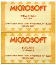 MS Business Cards