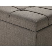 b529f9228f729becb4b96e4763562101 - Better Homes & Gardens Pintucked Storage Bench