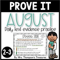 ⭐ With these short nonfiction passages, your students can have daily practice proving their answers by color-coding the text evidence. (10 passages)
