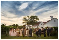 vineyard ceremony // a jubilee event http://www.eventjubilee.com // Robert Norman Photography