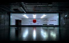 Red sphere, lab work.
