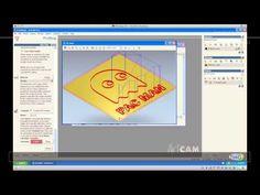 ArtCAM: Como importar Vectores - YouTube