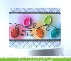 Cute Christmas Gifts, Christmas Cards To Make, Xmas Cards, Handmade Christmas, Holiday Cards, Chrismas Cards, Christmas Projects, Christmas 2019, Christmas Light Bulbs