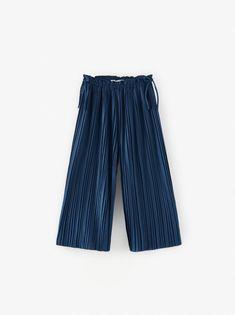 Calça com Prega Assimétrica Zara   Calça Feminina Zara Usado 28720784   enjoei