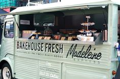Citroën Type H ('The Madeleine Express' of Noisette Bakehouse) Another French Bakery Truck!