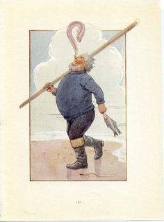 ALICE IN WONDERLAND 1922 illustration by Margaret W. Tarrant