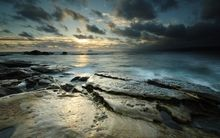 water nature beach rocks seascapes 2560x1600 wallpaper